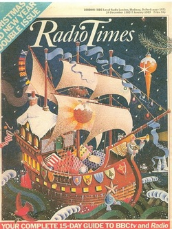 Radio Times Christmas Cover 1982