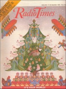 Radio Times Christmas Cover 1983