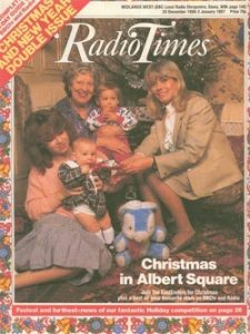Radio Times Christmas Cover 1986