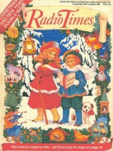 Radio Times Christmas Cover 1987