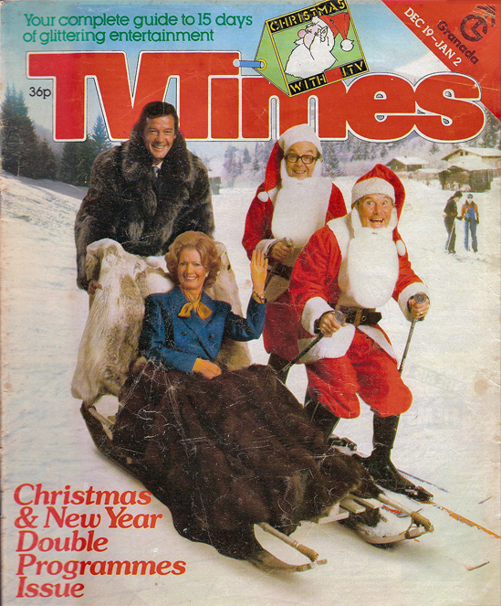 TV Times Christmas Cover 1980