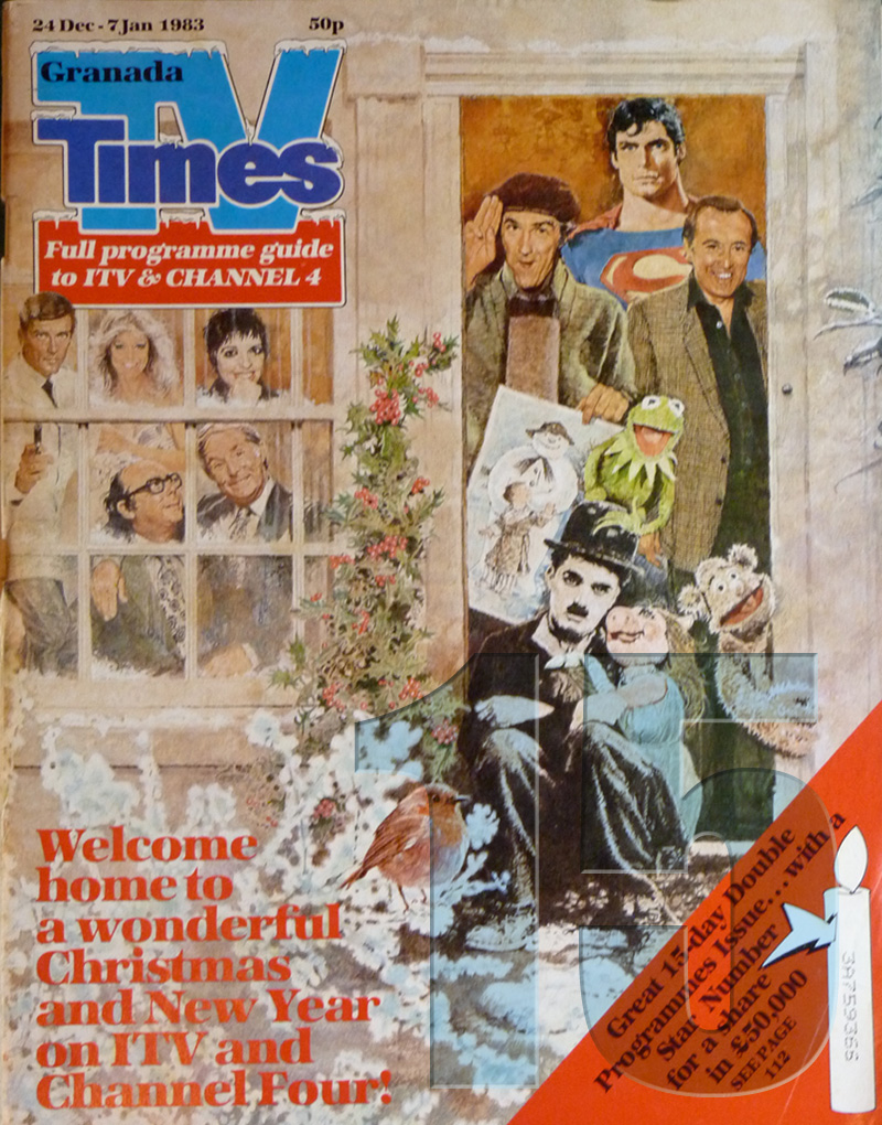 TV Times Christmas Cover 1982