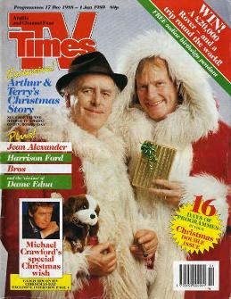 TV Times Christmas Cover 1988